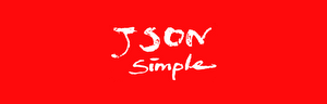 JSON.simple logo