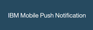 IBM Mobile Push Notification logo